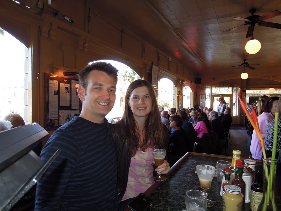 Irish Coffee at Buena Vista
