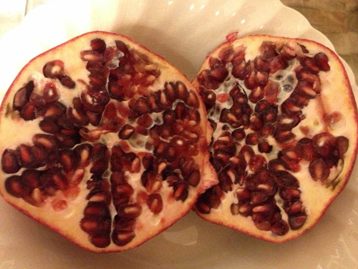 Day 5 Pomegranate.