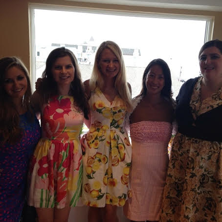 bridal party and offic